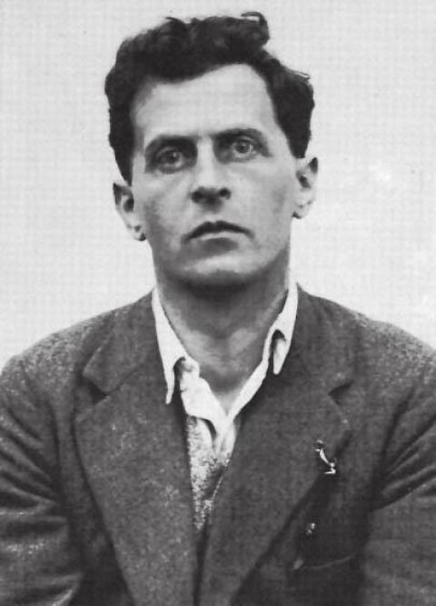 ויטגנשטיין בעת קבלת מלגת לימודים מטריניטי קולג', 1929
