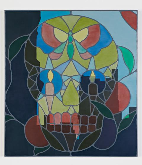 Maya Gold, Memory, 2015, 59X65, oil on MDF