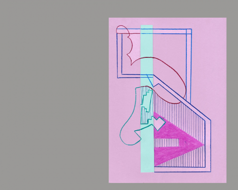 """טוני נבוק, \""""שעות עגולות\"""", רישומי לוח שנה, 2015"""