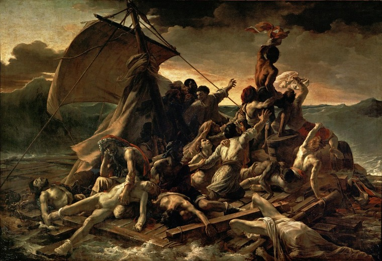 Theodore Gericault, the Raft of the Medusa, 1818-1819