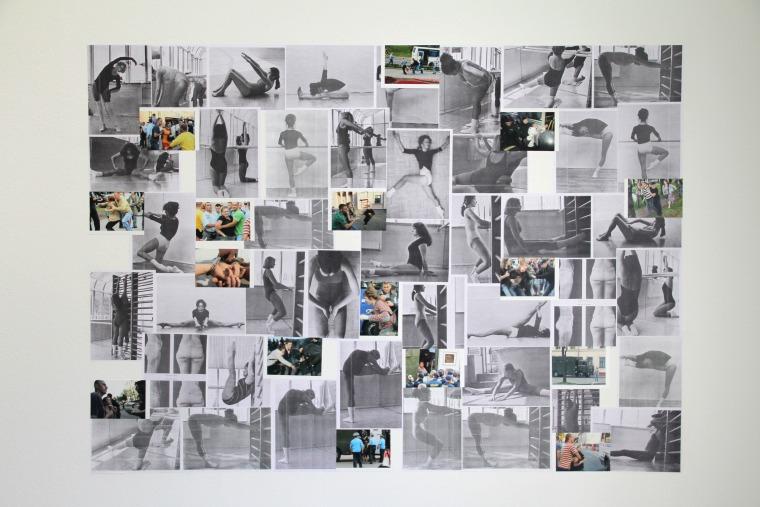 """مارينا نبروشكينا """"لياقة بدنية بيتية"""", 2012, منظر تنصيب"""