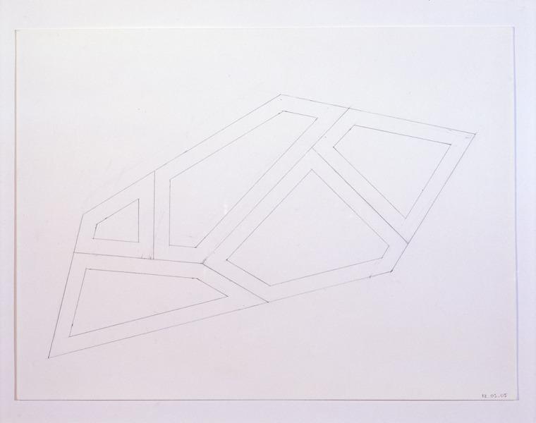 ichard Deacon, Alphabet, 2004-2005Graphite on paper