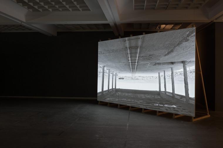 Nir Evron, A Free Moment Installation view, Tel Aviv Museum of Art, 2016. Design: Dan Hasson. Installation photography: Elad Sarig