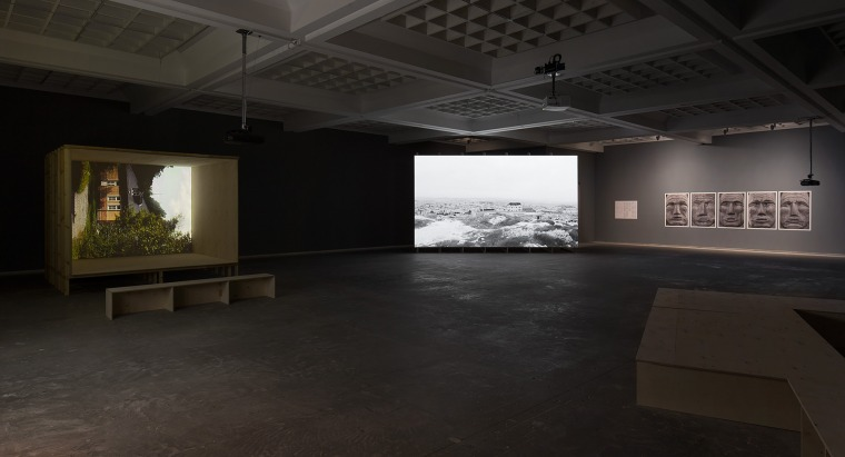 Nir Evron, Masad Installation view, Tel Aviv Museum of Art, 2016. Design: Dan Hasson. Installation photography: Elad Sarig