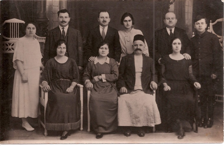 The Mograbi family in Damascus, early 1920s