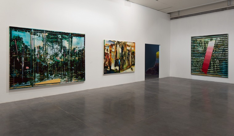 "Installation view, ""Take Painting,"" Petach Tikva Museum of Art, 2016 Photography: Elad Sarig"