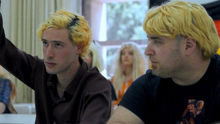 נדב בן-נון (משמאל) בתפקיד יוהן, מתוך הסרט הגרמני הרך (2014)