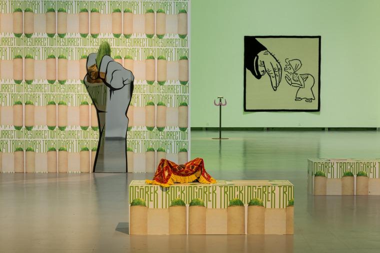 Mouth to Mouth - מראה הצבה. המרכז לאמנות עכשווית, וילנה (CAC) צילום: אנדריי ואסילנקו