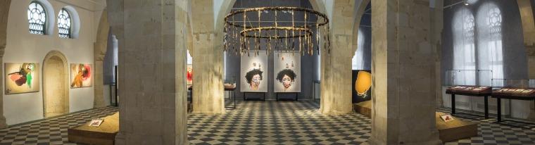 """Anisa Ashkar, """"Black Gold,"""" 2017 Installation view"""