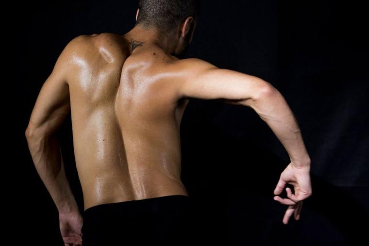 عرض حديث الجسد، تصوير تامر مصالحة، مدرسة عايدة للرقص المعاصر، 2018