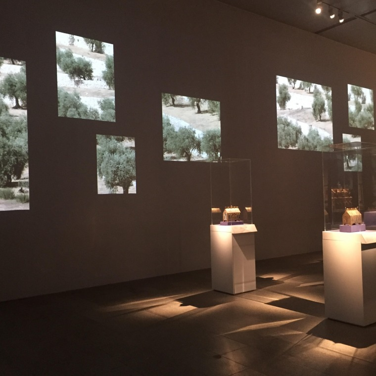 "Jerusalem, 1000-1400: Every People Under Heaven,"" Installation view. Photo: Rula Khoury"